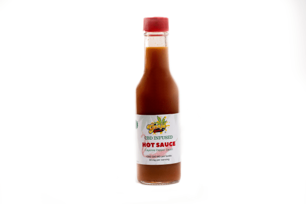 Ganja Juice Hot sauce CBD superbowl CBD today