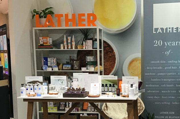 The Lather booth gets a closeup