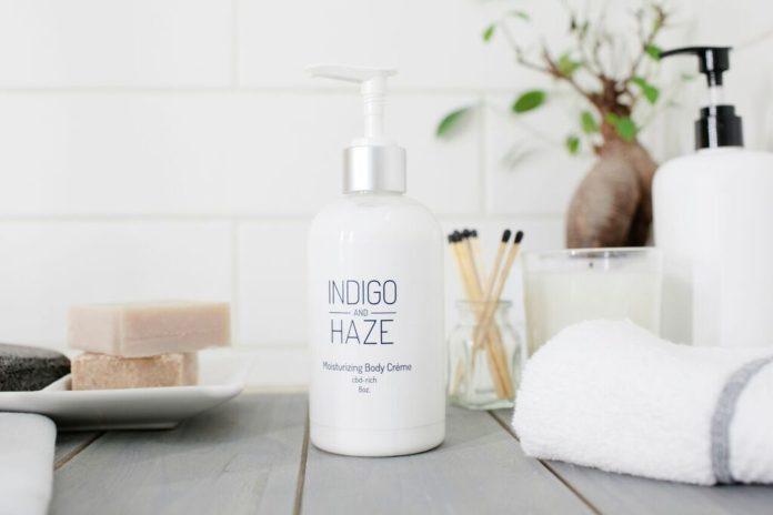 Indigo and Haze Body Crème-CBDToday