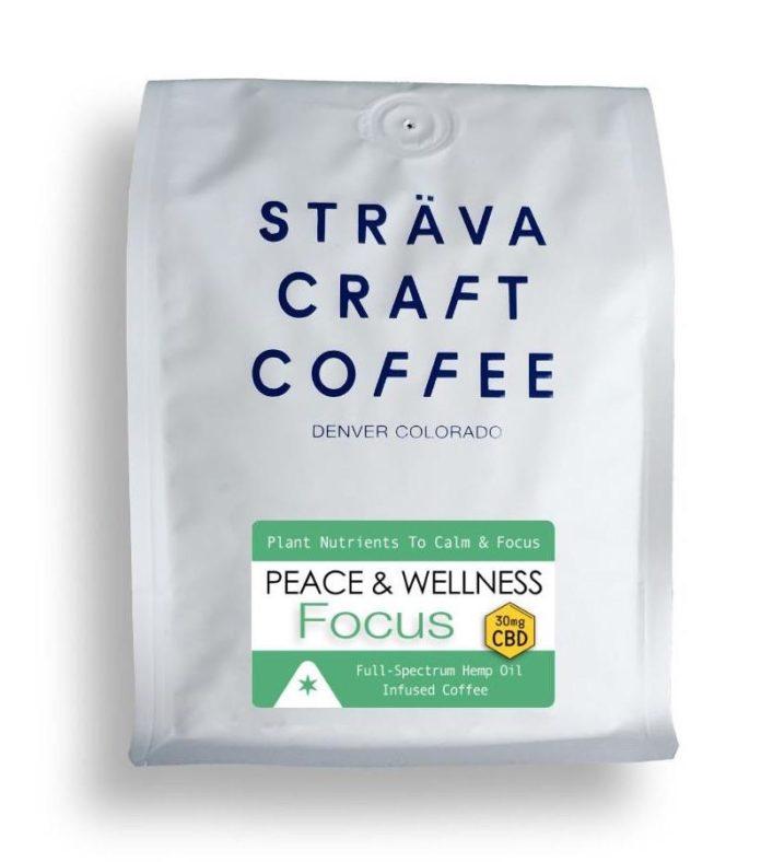 Strava Craft Coffee-Peace Wellness FOCUS-CBD products-CBDToday