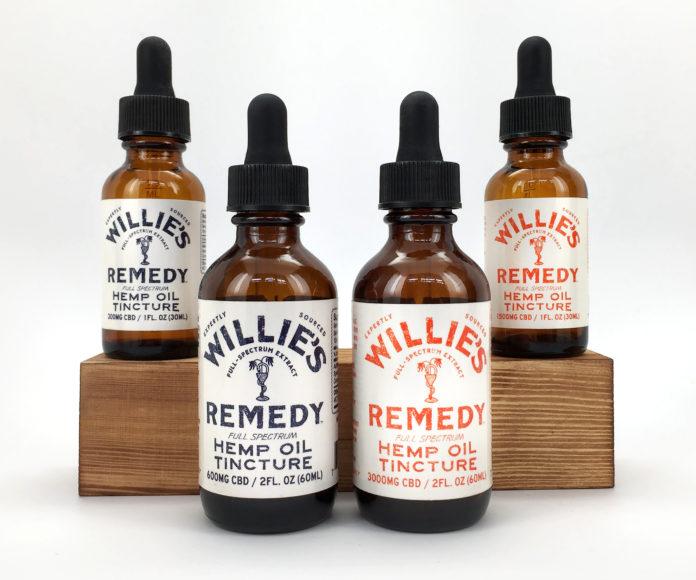 Willie's Remedy CBD Tinctures-CBD products-CBDToday