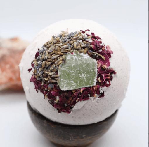 Lavender-Rose-CBD-Bathbomb-KayaHempCo-mgretailer
