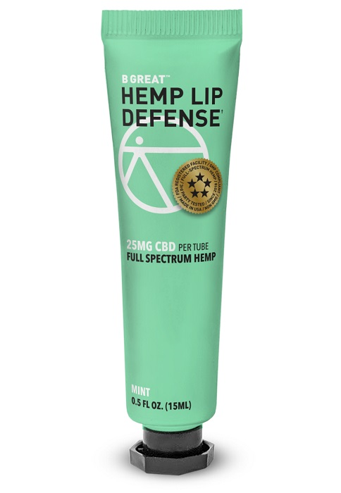 BGREAT-Hemp Lip Defense-CBD products-CBDToday