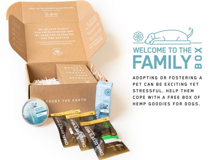 Charlotte's Web-Welcome to the Family Pet Box-press release-CBD-CBDToday