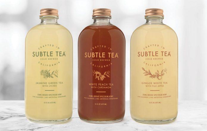 Subtle Tea-VCC Brands-press release-CBD products-CBDToday