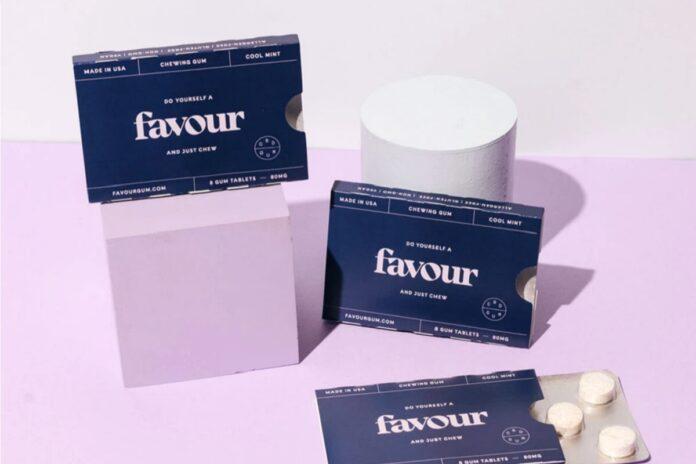 Favour Chewing Gum-CBD product-CBDToday
