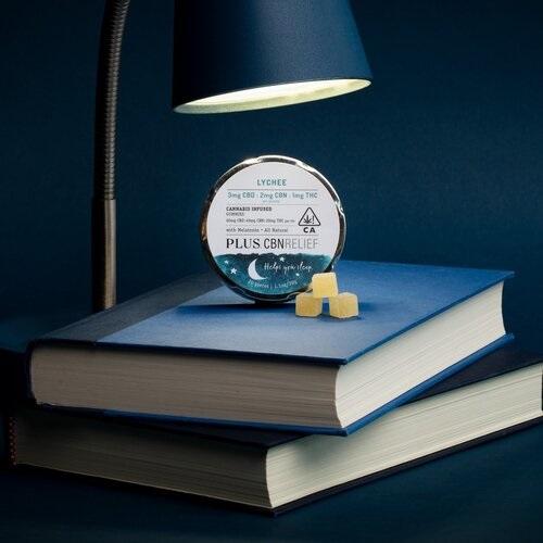 Plus Products Sleep CBNRelief Gummies-CBD products Gift Guide-CBDToday