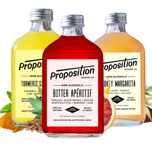 Proposition Cocktails-CBD products Gift Guide-CBDToday