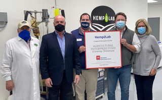 Hemp2Lab Receives Tennessee Agricultural Enterprise Fund Grant-press release-CBC-CBDToday