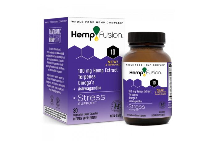 HempFusion CBD Stress Capsules-CBD products-CBDToday