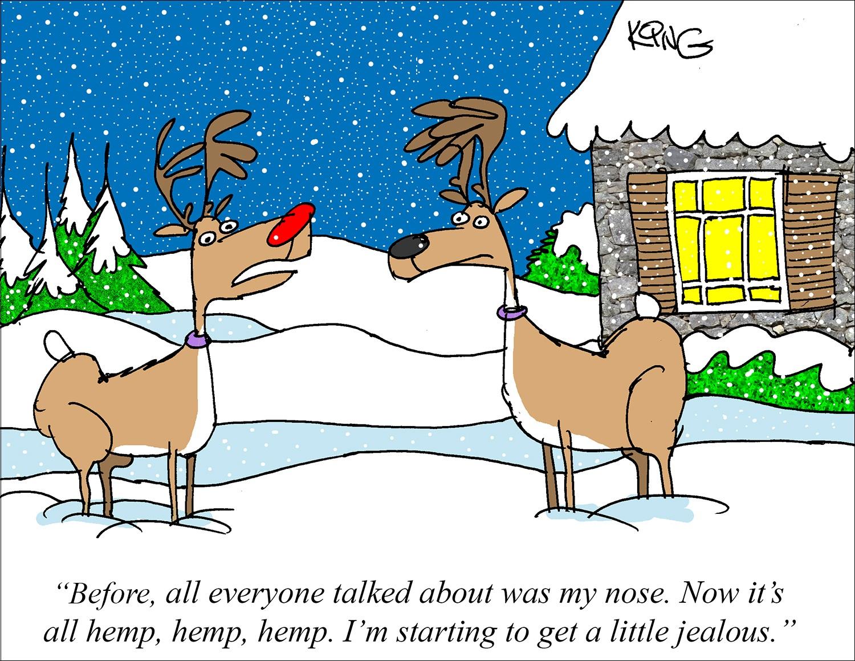 Jerry-King-cartoonist-December-2020-hemp cartoon-CBD-CBDToday