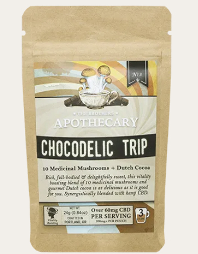 The Brother's Apothecary Chocodelic Trip CBD-Infused Hot Chocolate-CBD products-CBDToday