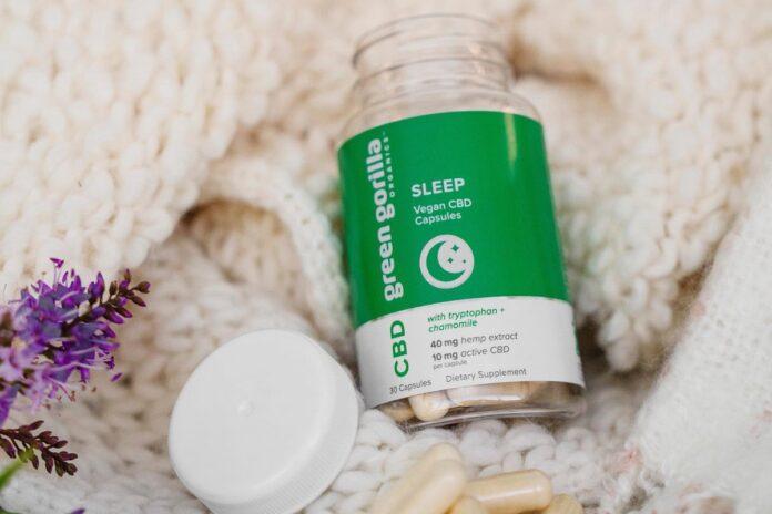 Green Gorilla Vegan CBD Capsules-CBD products-CBDToday
