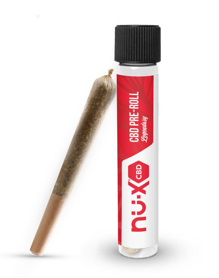 nu-X CBD pre-roll tube Custom Cones USA CBD Today mg Magazine