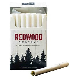 Redwood Reserve hemp pre-rolls Custom Cones USA CBD Today mg Magazine