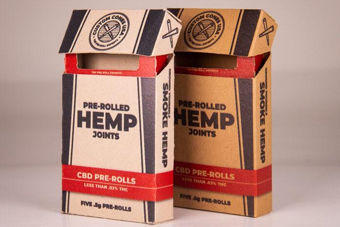 Branded CBD pre-roll boxes Custom Cones CBD Today mg Magazine