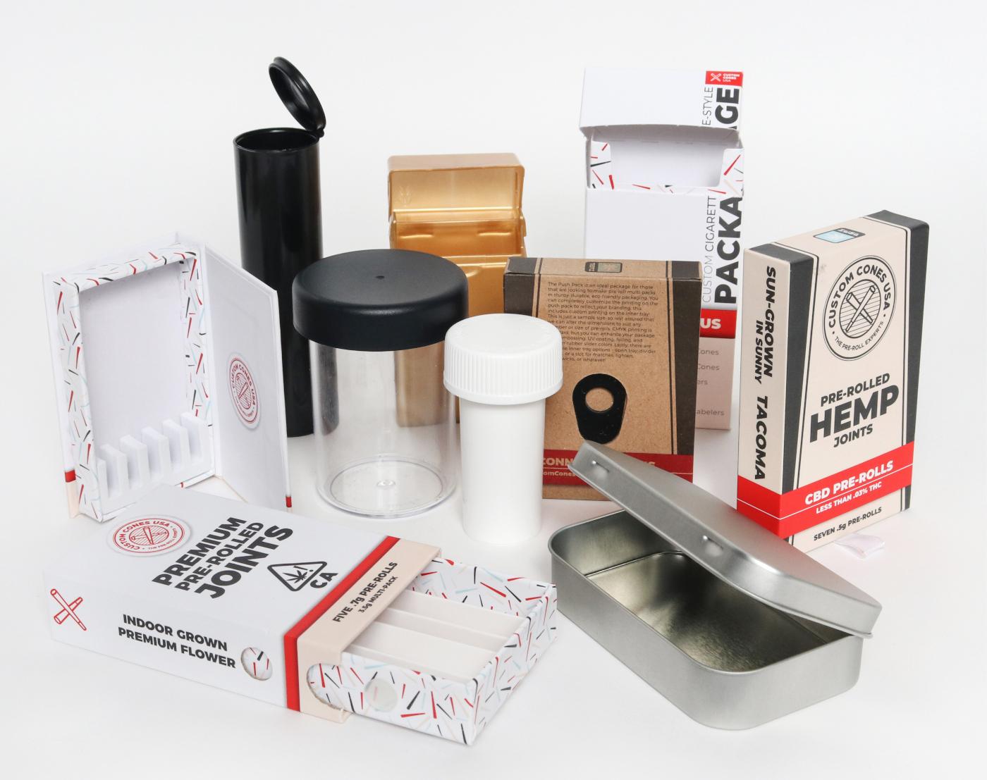 Custom Cones USA CBD packaging mgretailer