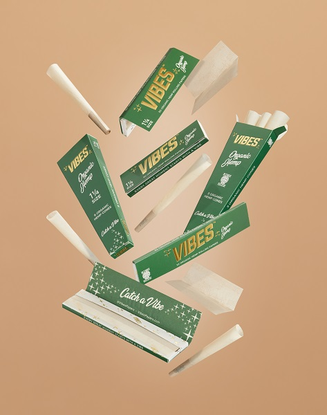 Greenlane Announces Launch of VIBES Organic Hemp Rolling Papers and Cones-press release-CBDToday