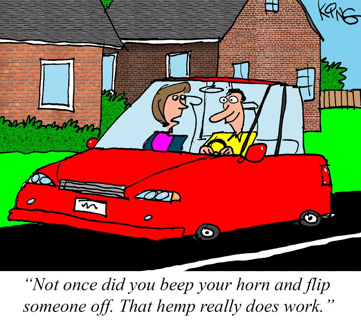 Jerry King-cartoonist-April 2021-hemp cartoon-CBD-CBDToday